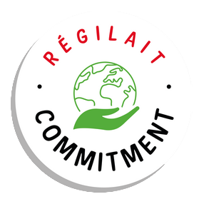 Logo RSE Régilait Commitment